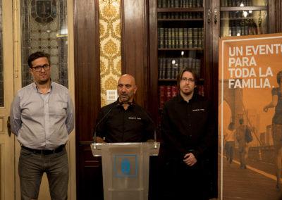 Presentación en el Ayuntamiento con Don Alberto Lema (Concejal de Emprego e Economía Social)