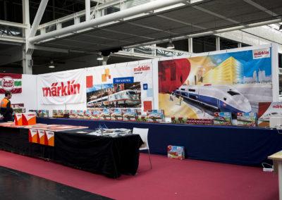 Pequeña muestra de los productos del fabricante alemán de trenes eléctricos Märklin