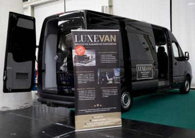 Luxevan mostró lo último en furgonetas para la diversión