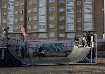 Competición infantil de skate