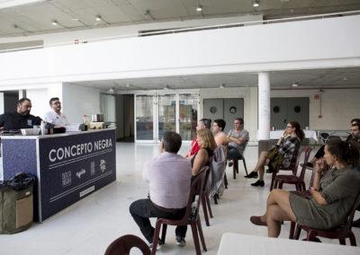 Los visitantes disfrutaron con la Master class de Pablo Pizarro