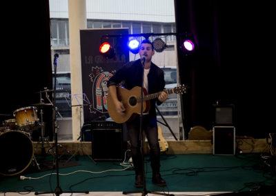 Los cantantes y el público disfrutaron de un entorno privilegiado