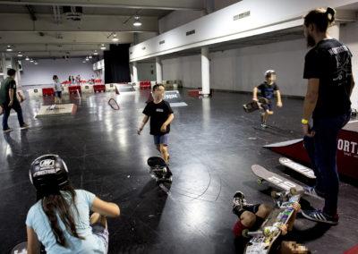 Circuito interior de skate