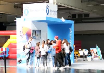 Stand de la Diputación de A Coruña