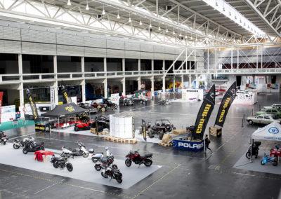 Motos  y quads en primer plano