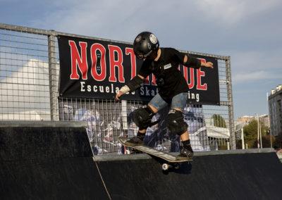 Exhibición de skate