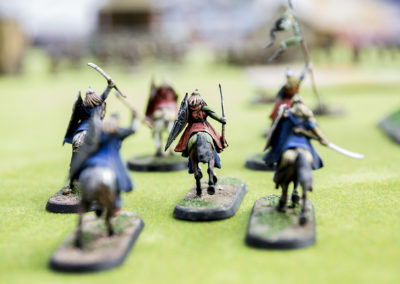 Miniaturas de fantasía en el Stand de la Asociación Cultural Escala