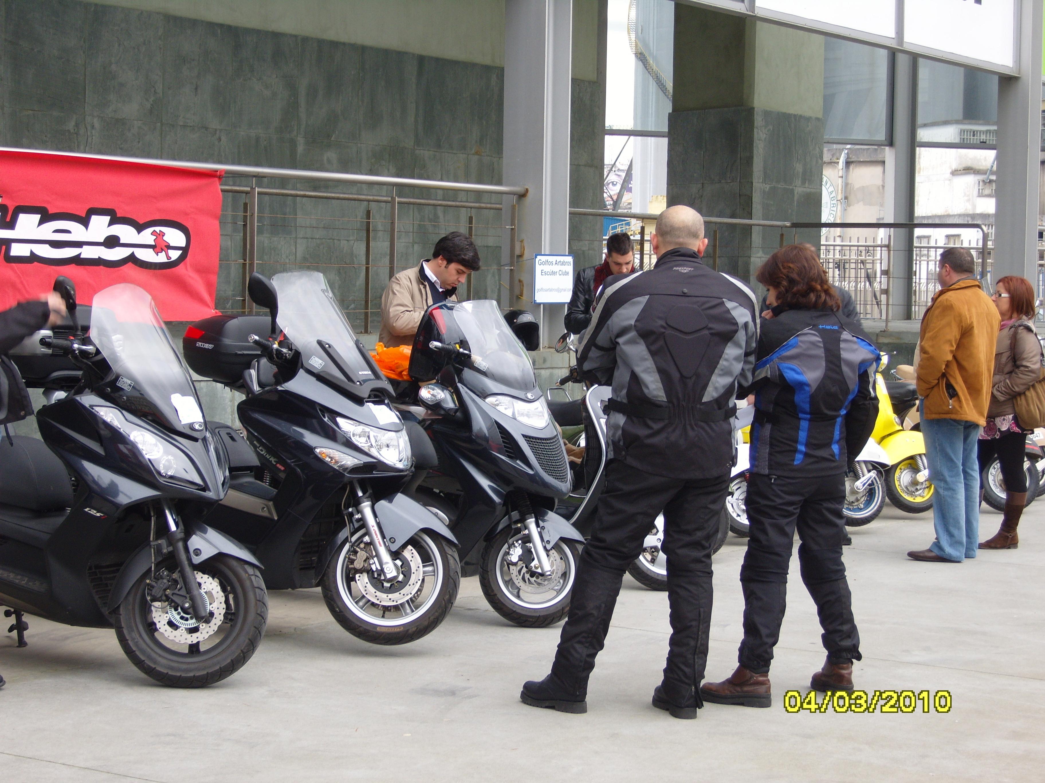 Curso de iniciación a la conducción de motos y scooters
