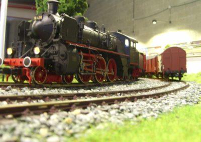 Un mundo del tren en miniatura
